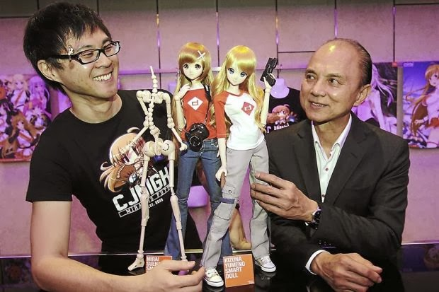 Jimmy Choo's son comes up with 3D dolls