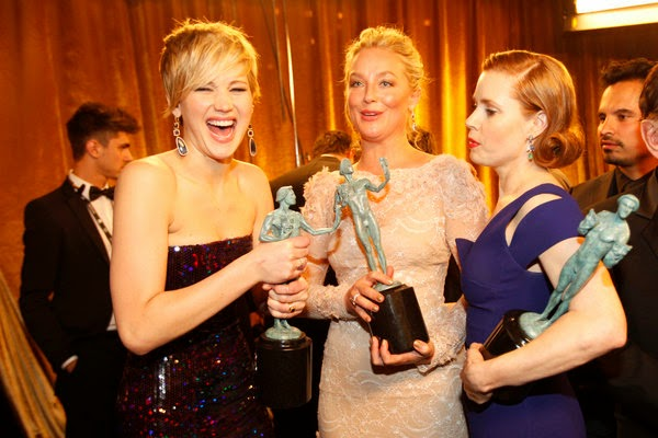 The winners at the Screen Actors Guild Awards 2014