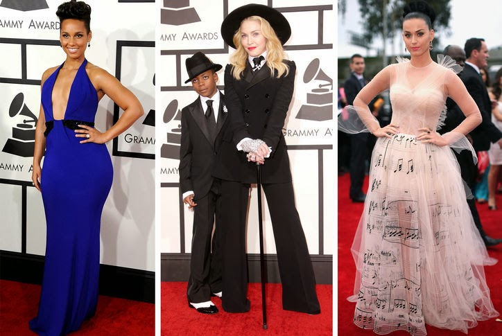 Red Carpet of the 2014 Grammy Awards!