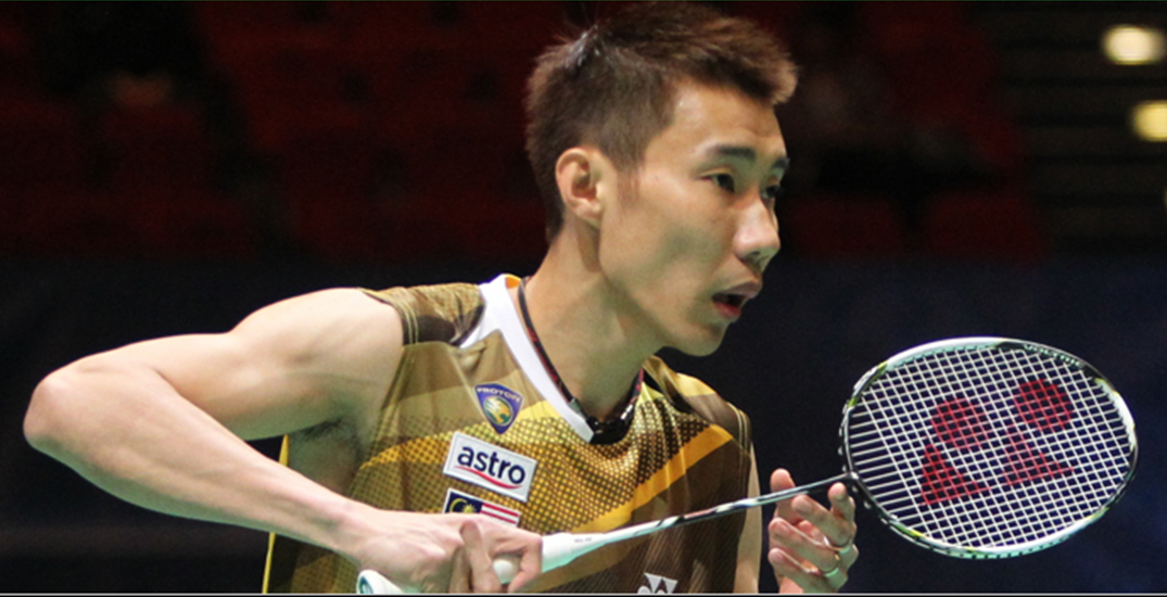 Lee Chong Wei In Ready Position