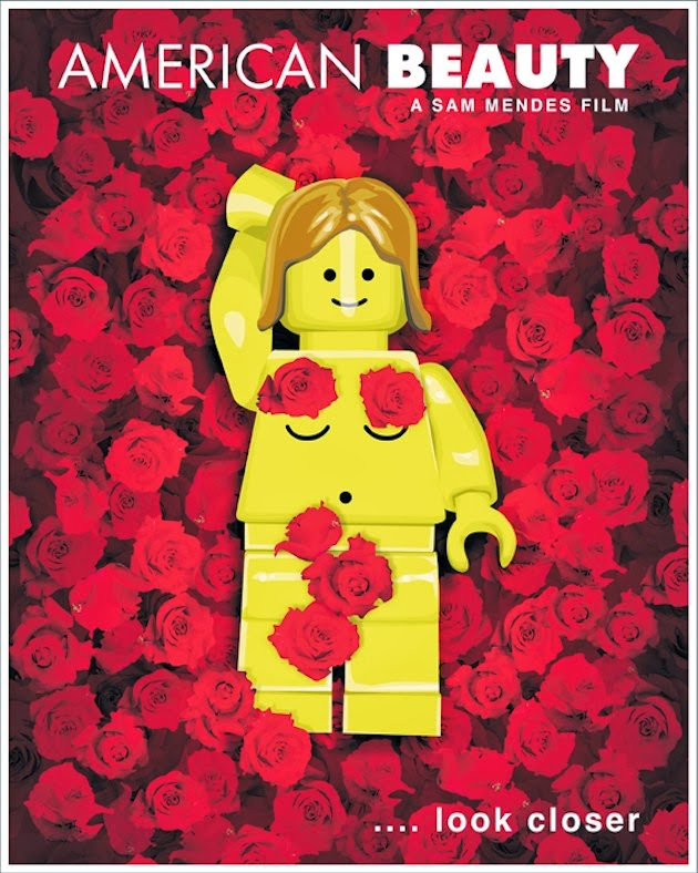 Lego poster american beauty