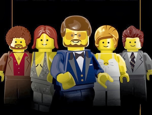 Oscar Best Picture nominees LEGO-fied !