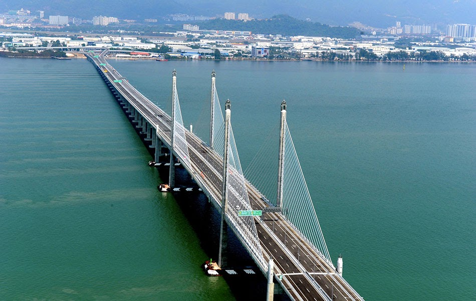 New Penang Bridge's first suicide attempt