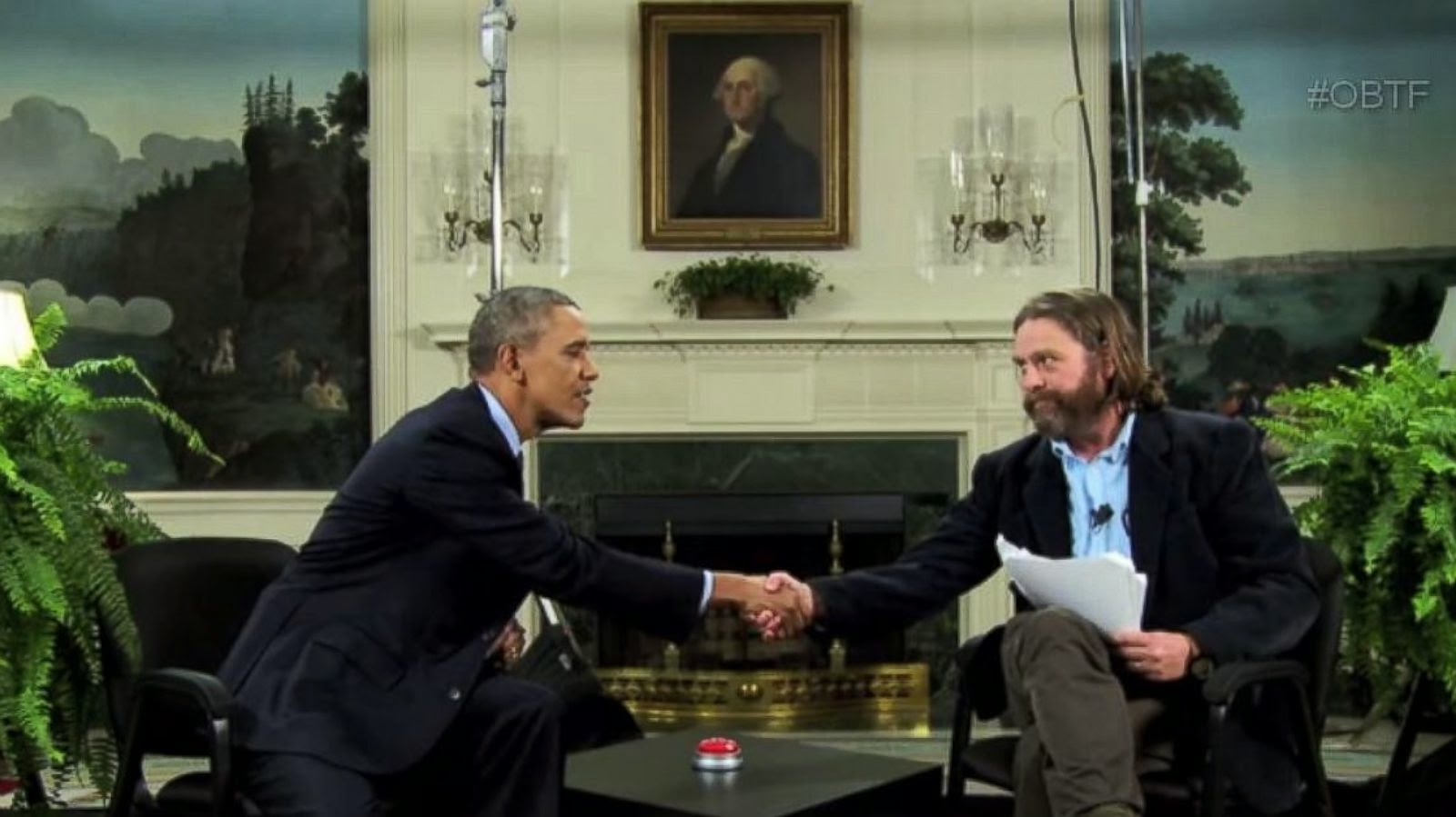 """Obama's """"Between Two Ferns"""" boosts health care registrations"""