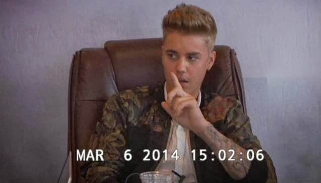 Deposition video shows rude and annoyed Bieber