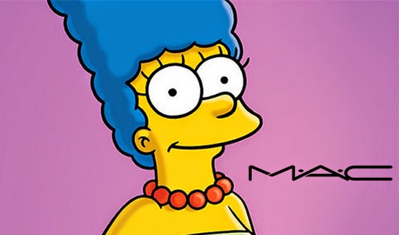 Marge Simpson to be the face for M.A.C. Cosmetics