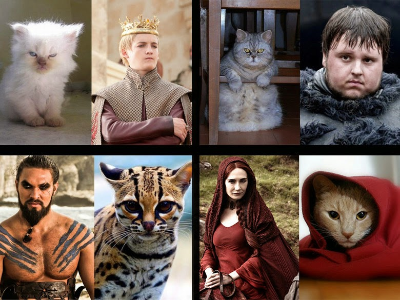 """A hiss-terical look at """"Game of Thrones"""" cast"""