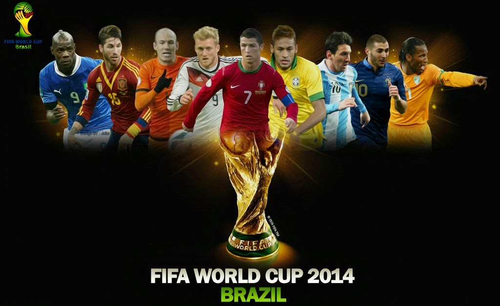 32 hot hunks from each of the FIFA 2014 World Cup teams!
