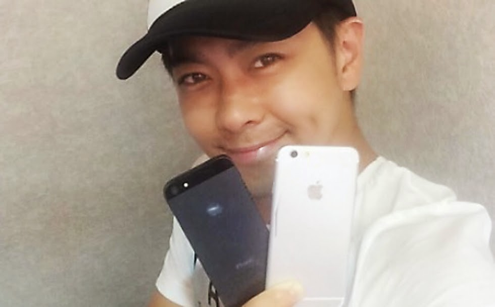 iPhone 6 photos leaked by Taiwan pop star