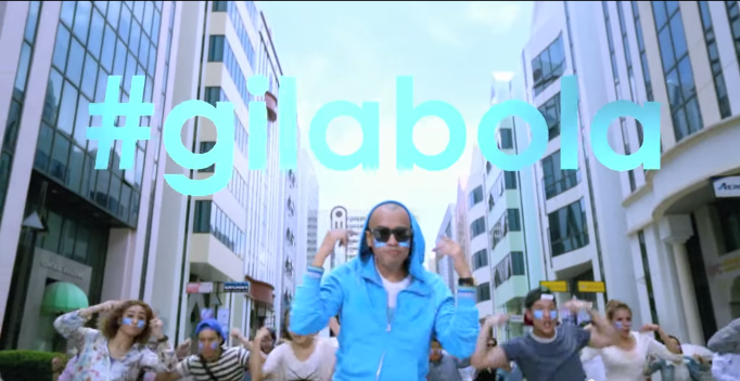 Joe Flizzow's World Cup song is #gilabola