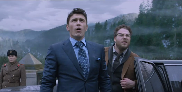 North Korea calls Franco and Rogen movie an 'act of war'
