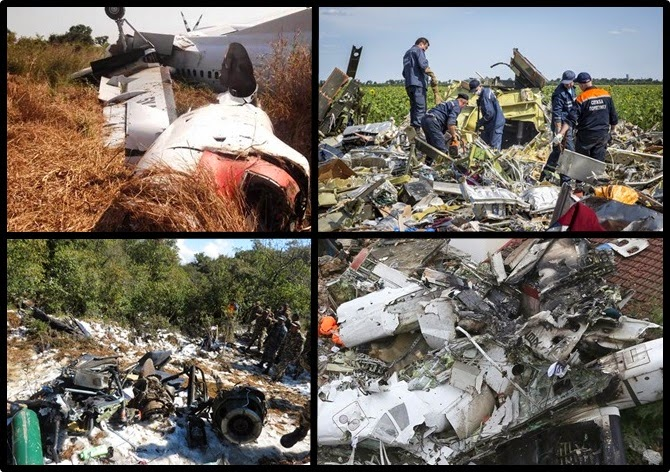 6 worst airplane accidents of 2014
