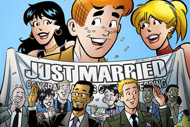 Archie comics' gay marriage issue banned in Singapore!