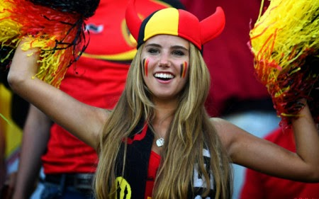 Devoted World Cup fan scores L'Oreal modelling contract