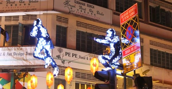 Lexus campaign features LED puppets in KL