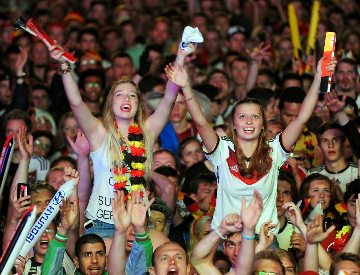 fans react world cup final argentina germany1