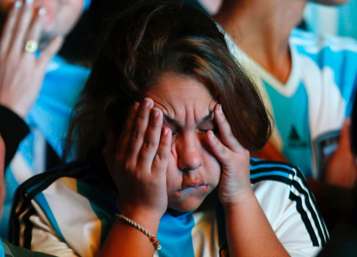 fans react world cup final argentina germany18