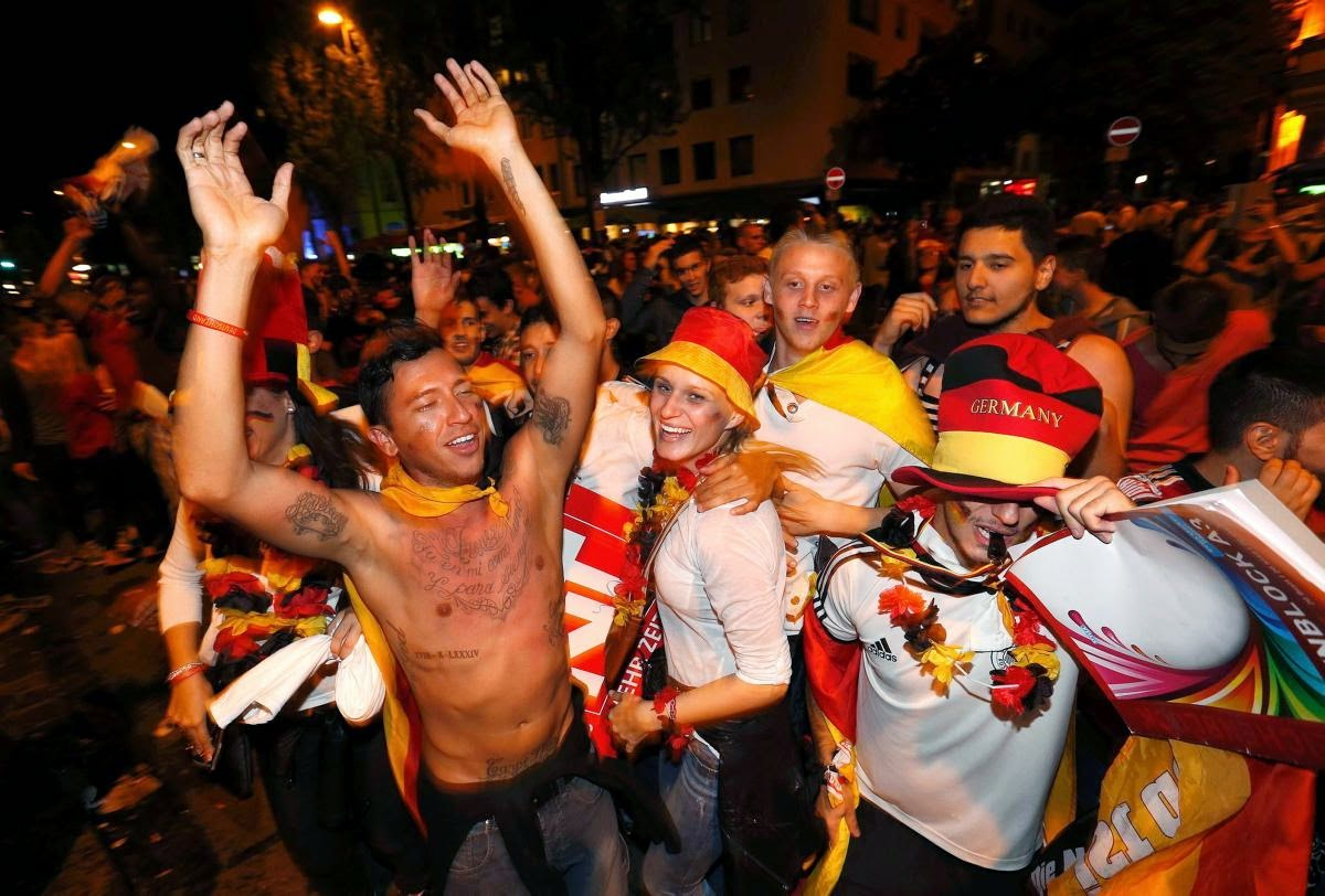 fans react world cup final argentina germany4