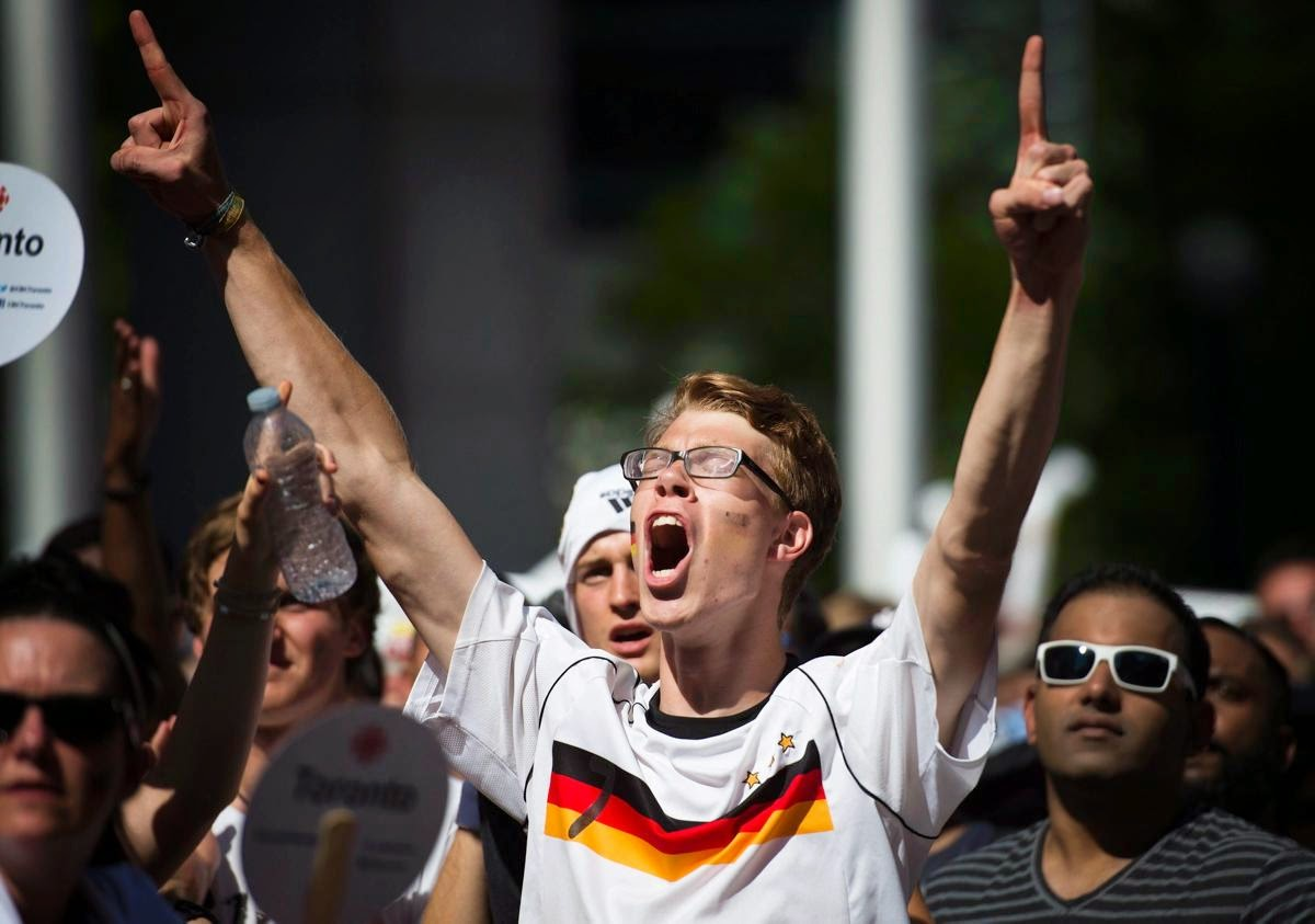 fans react world cup final argentina germany5