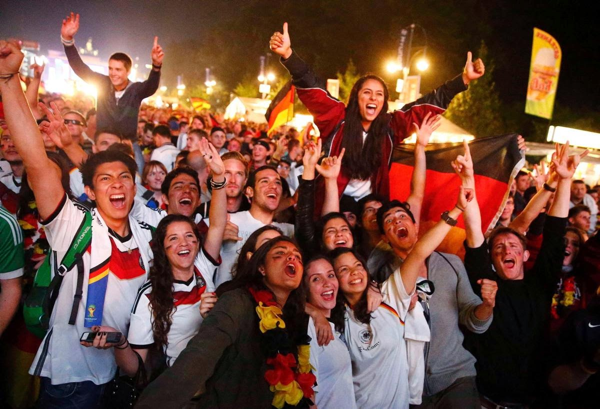 fans react world cup final argentina germany6