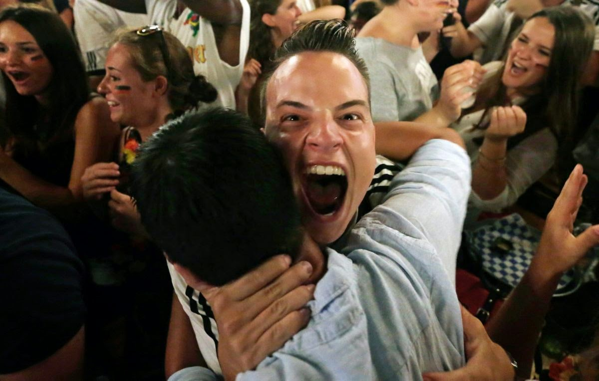 fans react world cup final argentina germany7