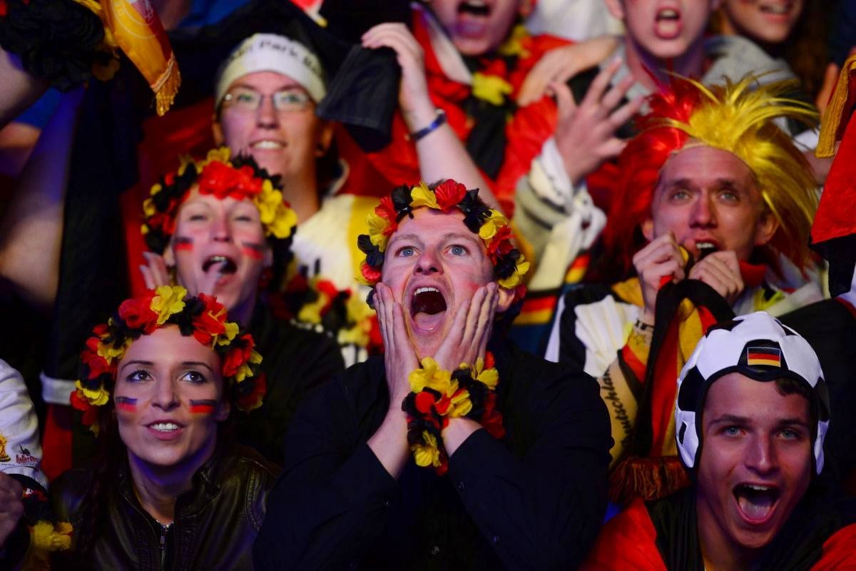fans react world cup final argentina germany8