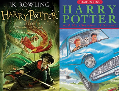 Harry Potter books revamped with new covers!