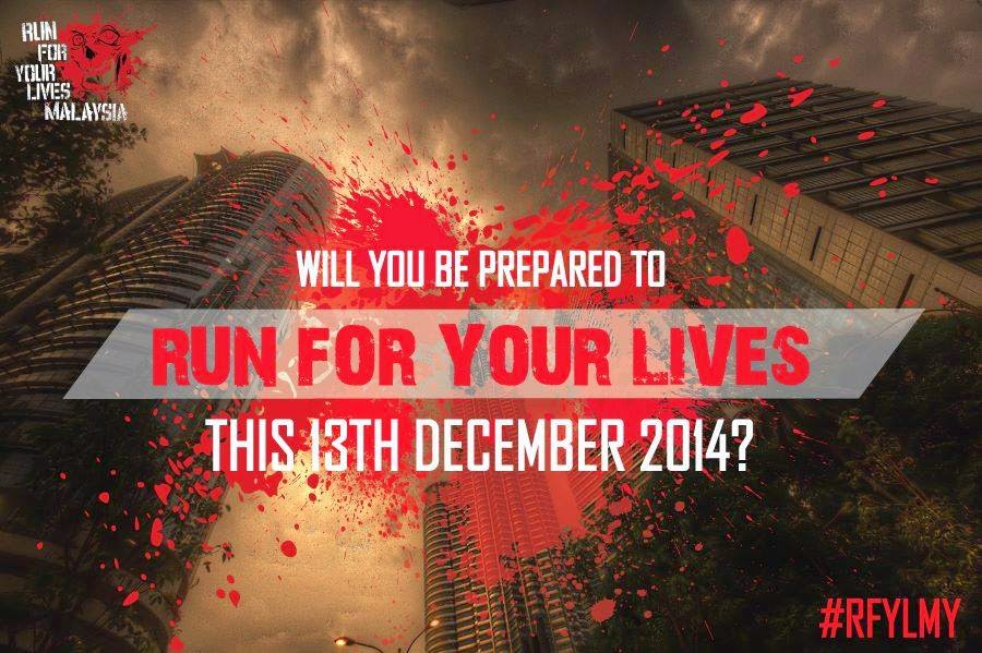 """""""Run For Your Lives"""" – Zombie 5K run in Malaysia"""