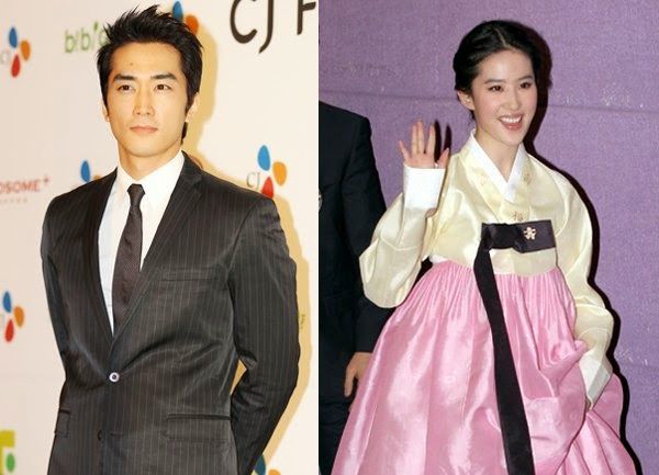 Liu Yifei begins filming new movie with Song Seung-hoon