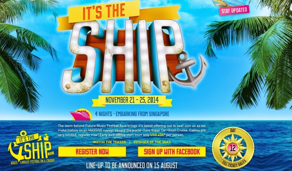 The Ship 2014 – Asia's largest cruise festival!