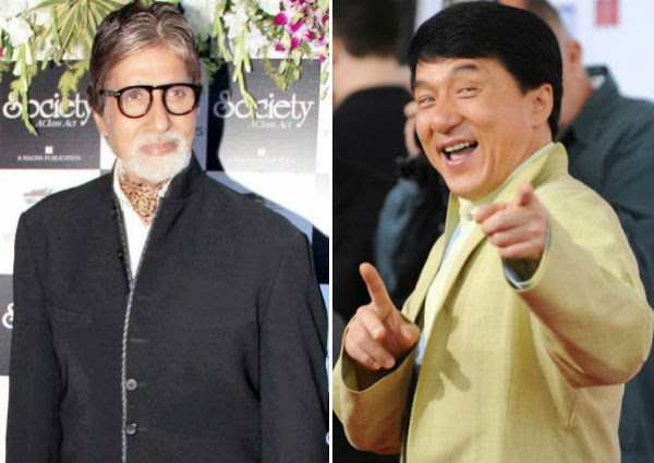 Amitabh Bachchan And Jackie Chan In First Indo Chinese Film