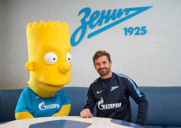 Bart Simpsons signs on with Zenit Saint Petersburg!