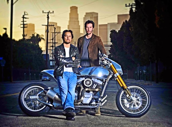 Keanu Reeves launches his own motorcycle