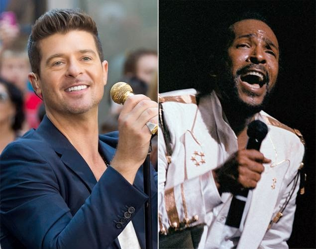 Robin Thicke sued by Marvin Gaye's children