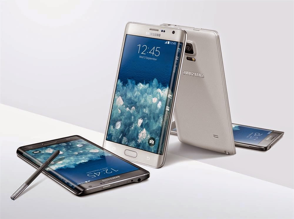Samsung launches Note 4, Note Edge and more