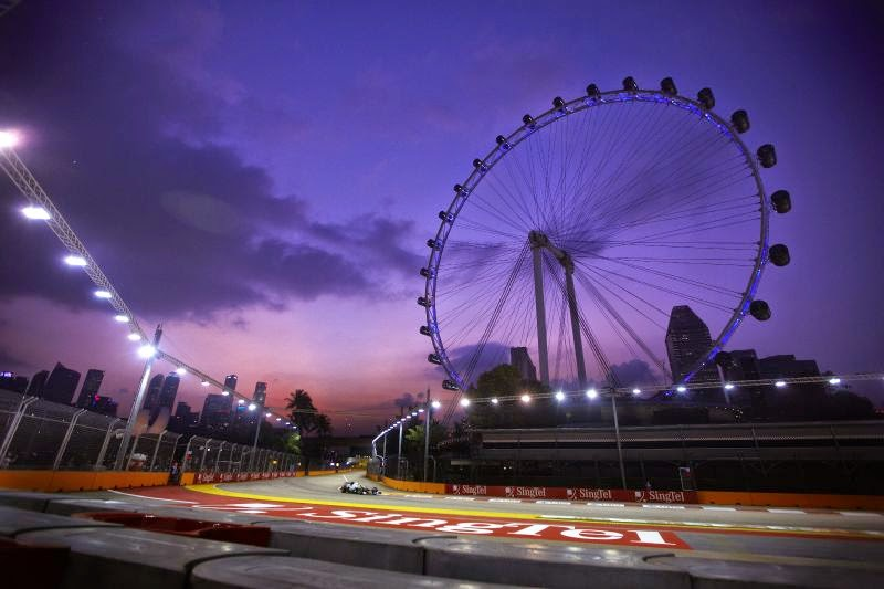 Singapore F1 Grand Prix happening this weekend!