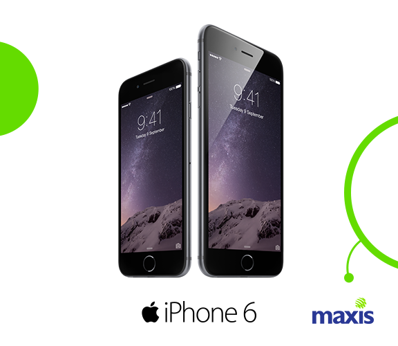 Maxis and DiGi sites crash due to iPhone 6 pre-orders