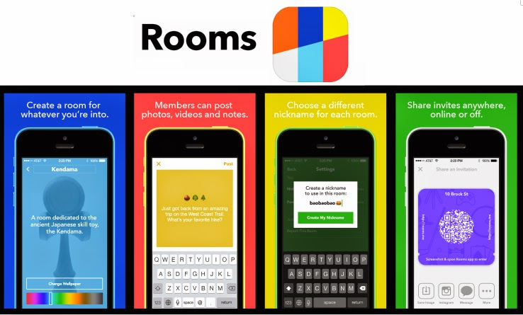 Facebook launches new Rooms app