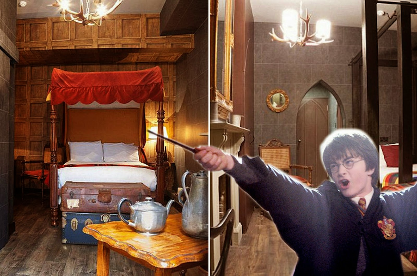 """""""Harry Potter"""" themed suites in London"""