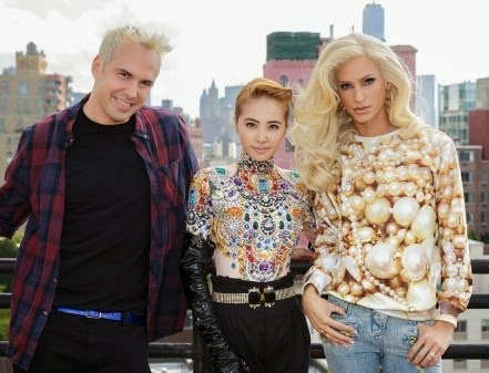 Jolin Tsai works with The Blonds for upcoming album