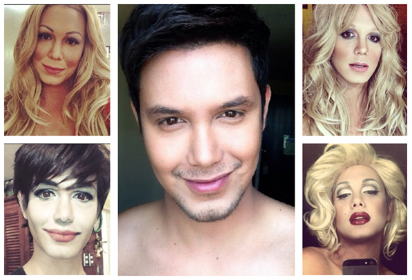 [Photos] You won't believe the skills of this celeb impersonator!