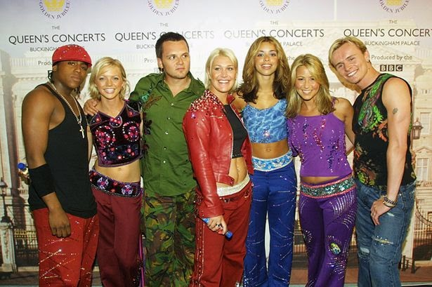 """S Club 7 reunites for """"Children in Need"""" 2014"""