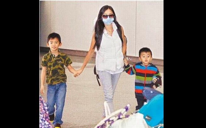 Cecilia Cheung upset by son's photo