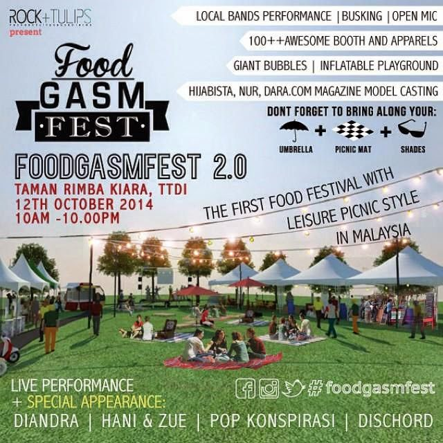 Largest picnic party in Malaysia, Foodgasm Fest 2.0!