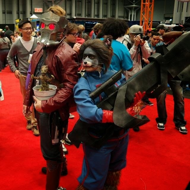 guardians of the galaxy wasnt only a big hit at theaters but is also a popular cosplay theme