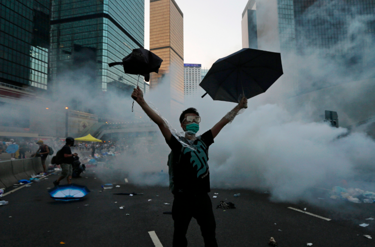 Hong Kong stars shocked by police brutality