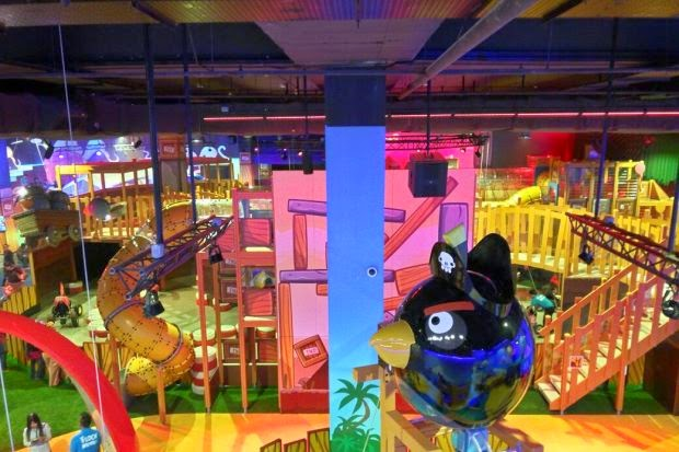 Angry Birds indoor park to open in JB this Friday