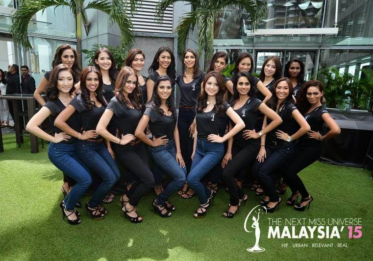 [Photos] The 17 Miss Universe Malaysia 2015 finalists