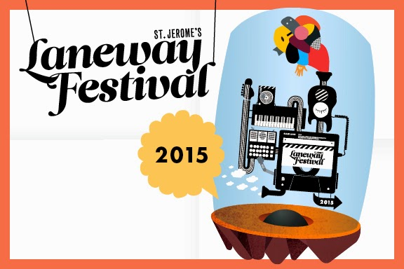 2015 St. Jerome's Laneway Festival in Singapore