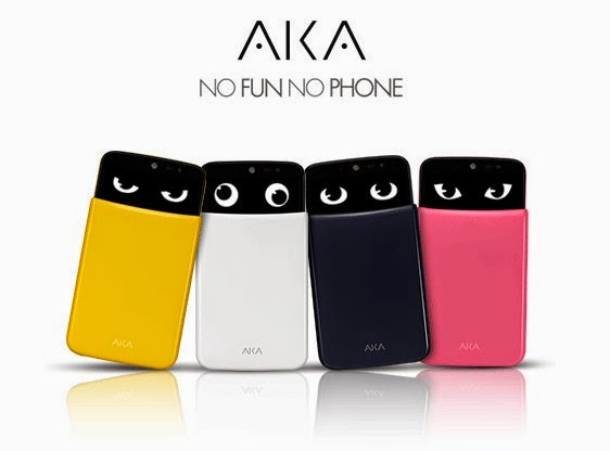 LG AKA phones with personalities and moving eyes!